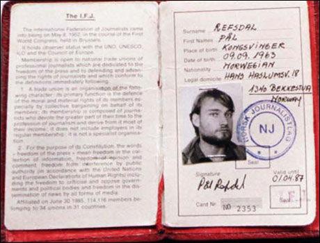 LØSLATT: Pål Refsdal (46) ble løslatt etter en uke i fangenskap i Afghanistan. Foto: EPA