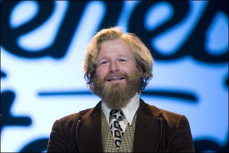 SKADET I SCOOTERULYKKE: NRK-kjendis Petter Schjerven, kjent fra programmenene Typisk Norsk og Tingenes Tilstand. Foto: SCANPIX