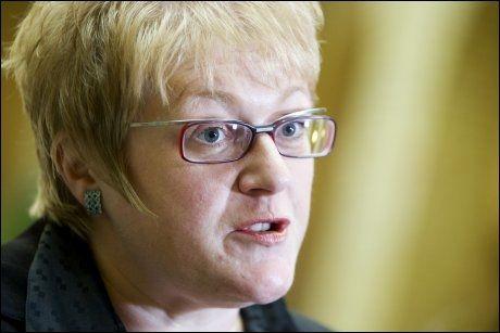 OPTIMIST: Venstres parlamentariske leder, Trine Skei Grande, mener at Venstre er et levedyktig parti. Foto: Scanpix