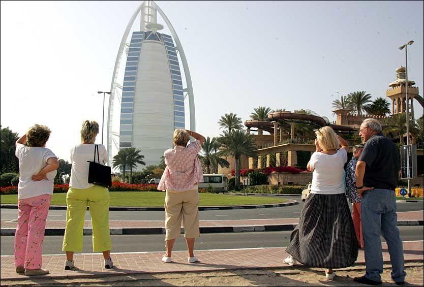 STRENGE REGLER: I Dubai bør du helst oppføre deg pent. Foto: AFP