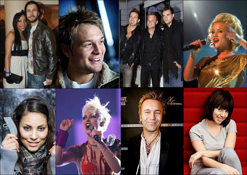 SKAL VÆRE MED I GRAND PRIX: I dag presenteres låtskriverne til neste års Melodi Grand Prix Foto: Scanpix/VG