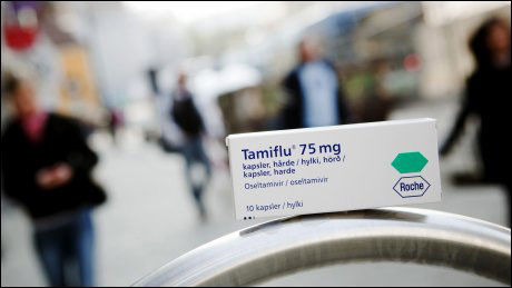 MEDISINEN: Norske helsemyndigheter har kjøpt inn 1,4 millioner doser med Tamiflu. Foto: Scanpix