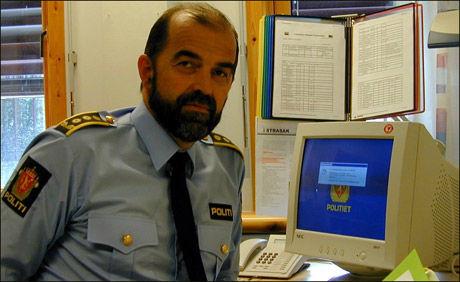 KRITISK: Politiinspektør Sigbjørn Bjerkem. Foto: PAUL OLA KJERKREIT