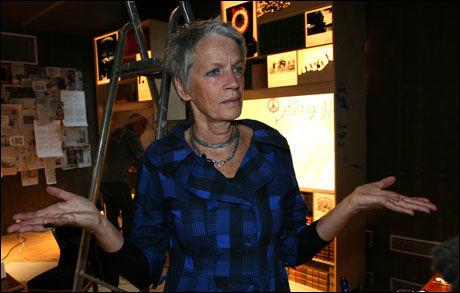 SKUFFET: Direktør Bente Erichsen ved Nobels fredssenter er skuffet over at Obama ikke kommer, men understreker at hun har stor forståelse for at han er en travel mann. Foto: Mads A. Andersen