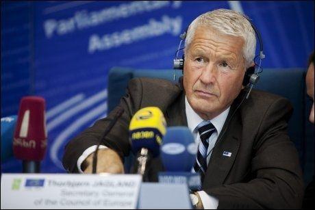 KRITIKK: Thorbjørn Jagland får krass kritikk etter at det ble kjent at han ikke betaler skatt av ytelsene han mottar som generalsekretær i Europarådet. Foto: Jørgen Braastad