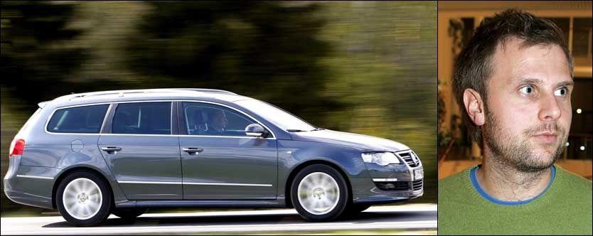 DYRERE: Biler større enn en Volkswagen Passat vil bli ilagt en luksusskatt ifølge, Aps Torgeir Micaelsen. Foto: VG