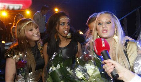 IKKE SKUFFET: Shackles tapte finalen i X-faktor på Telenor Arena fredag kveld. Foto: Scanpix
