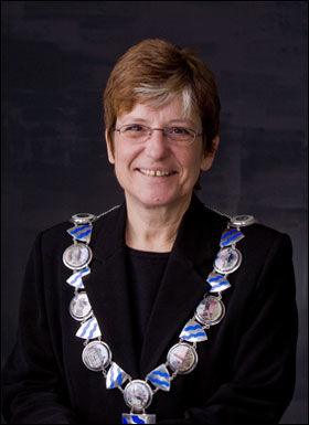 ORDFØRER: Anne-Hilde Rese ble ordfører i Hurum etter bare fire år i lokalpolitikken. Foto: Hurum Kommune