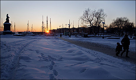 EKSTREMKULDE: Flere frykter konsekvensene av de ekstreme temperaturene som ventes i tiden som kommer. Foto: Scanpix