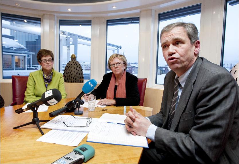 BEKYMRET: NSB-direktør Einar Enger innrømmer at togkundene har grunn til å være misfornøyd med tilbudet. Foto: Scanpix