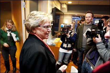 KRISEMØTE: Samferdselsminister Magnhild Meltveit Kleppa innkalte i dag til krisemøte om togkaoset. Foto: Scanpix
