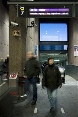 FORSINKELSER: VG Netts lesere er lei av togforsinkelser. Foto: SCANPIX