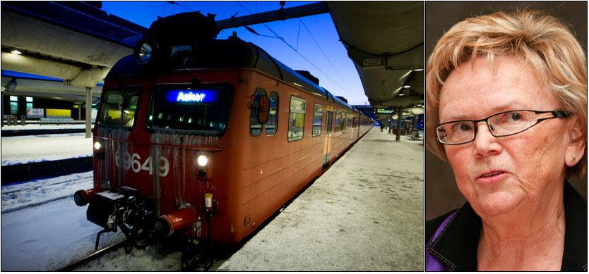 HASTEMØTE: Samferdselsminister Magnhild Meltveit Kleppa kaller inn til hastemøte etter at Østlandet den siste tiden har vært rammet av et massivt togkaos. Foto: Scanpix