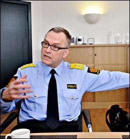 UENIG: Hans Sverre Sjøvold, rektor ved Politihøgskolen. Foto: Scanpix