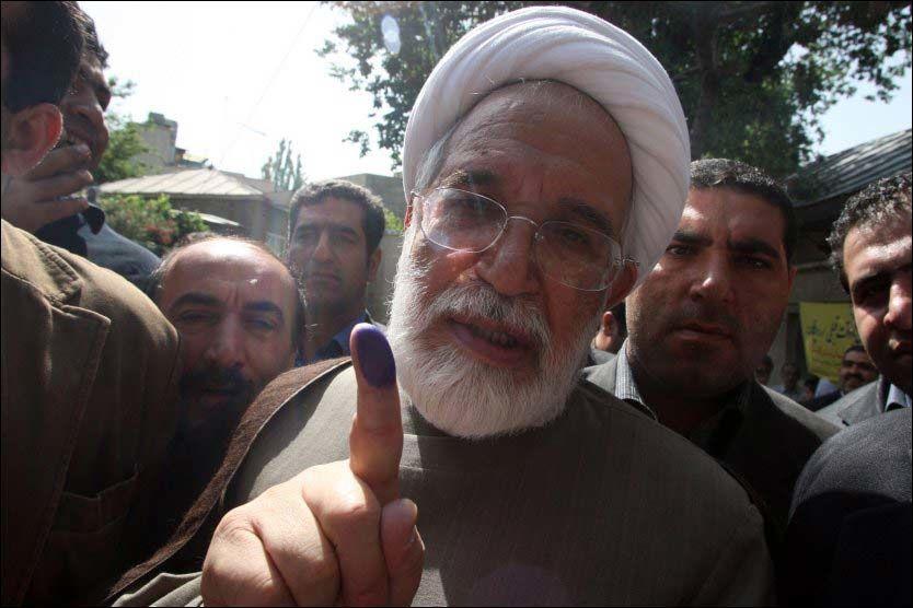 OPPOSISJONSLEDER: Mehdi Karroubi. Foto: AFP