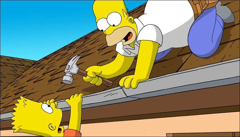 VISDOMSORD: Homer Simpson har gitt sønnen Bart velmenende råd mer enn en gang. Foto: 20th Century Fox