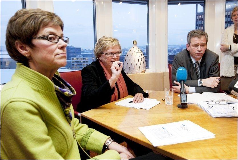KRISE 2010: Samferdselsminister Magnhild Meltveit Kleppa innkalte i dag til det foreløpig siste i en lang rekke krisemøter om forsinkelser i togtrafikken. Foto: Scanpix