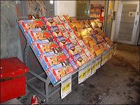 Bunnpris-butikk bruker vinterkulden som frysedisk