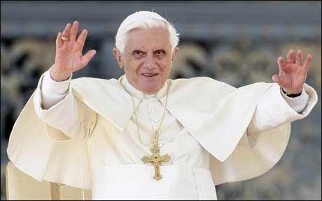 SINT: Pave Benedikt XVI er opprørt over drapet på de kristne i Egypt. Foto: Scanpix