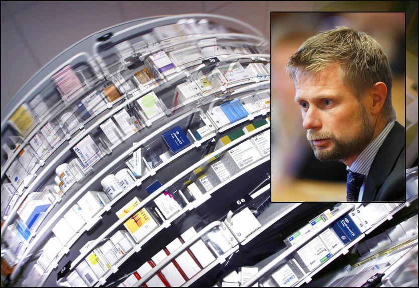 ØNSKER MEDISINDEBATT: Høyres Bent Høie var initiativtaker til en debatt om legemidler på Stortinget i dag. Foto: Scanpix