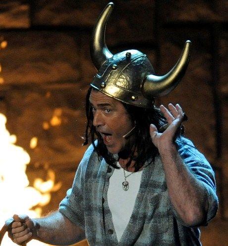 VIKINGFRELST: Mel Gibson har tenkt på å lage vikingfilm helt siden tenårene. Her på Guy's Chouice Awards i fjor. Foto: AP