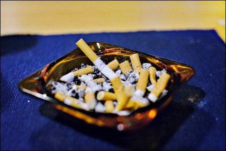 HELSESKADELIG: Røyking er ikke sunt. Foto: SIMEN GRYTØYR