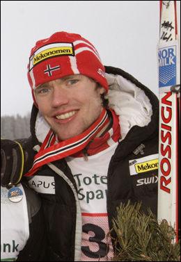 - THOMAS ER HABIL: Alsgaards lagkamerat Anders Myrland sier 38-åringen ikke stiller opp i NM bare for å delta... Foto: Scanpix
