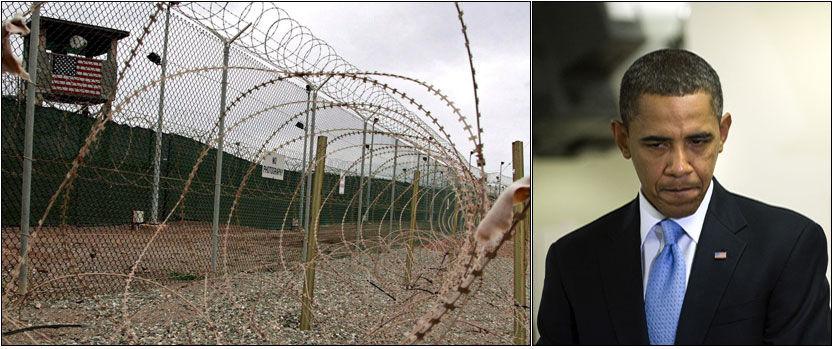 BRUTTE LØFTER: Hadde Barack Obama holdt det han lovet for et år siden ville Guantanamo Bay vært tom for fanger innen fredag. Onsdag sitter det 198 fanger der fortsatt. Halvparten av disse er jemenitter. Foto: EPA/AFP