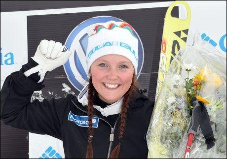 OL-HÅP: Etter onsdagens seier seiler Lillehammer-jenta Marte Høie Gjefsen opp som outsider i Vancouver-OL. Foto: Scanpix