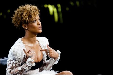 ENGASJERT: Rihanna har engasjert seg sterkt for de jordskjelvrammede i Haiti. Foto: Scanpix