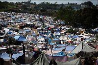 Ny forslumming i Haiti etter skjelvet