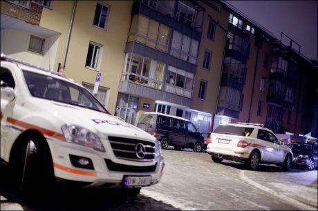 KREKARS HJEM: Det er i denne blokka Krekar bor. Politiet var de første som kom til åstedet etter skyteepisoden. Foto: Scanpix