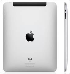 iPad-en ser ut som en forvokst iPhone. Foto: Apple