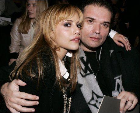 VAR ENKEMANN: Brittany Murphy og Simon Monjack - her på et bilde fra 2008 - giftet seg i 2007. Hun døde like før jul. Foto: Reuters