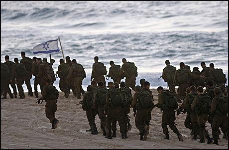 SUPERSOKKER: Israelske soldater skal slippe å plages med stinkende føtter. Foto: Reuters