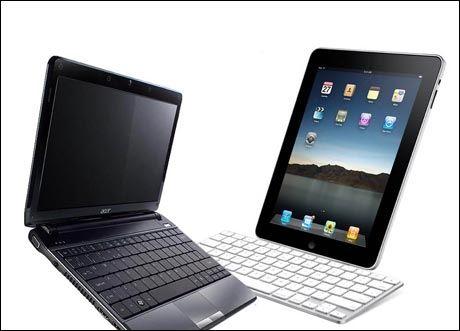 En iPad er ingen pc-erstatter. Men kan den erstatte nummer 2-pc-en? Illustrasjon: Macworld