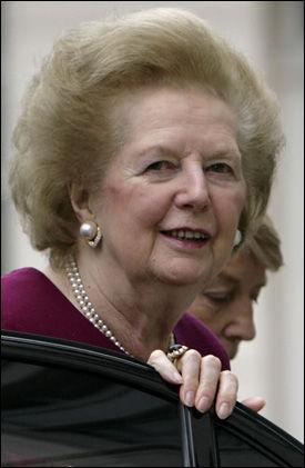 EKSTREM DIETT: Storbritannias tidligere statsminister Margareth Thatcher, gikk på en ekstrem diett før valget i 1979. Foto: AFP