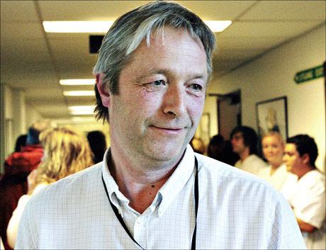 Sjefen for skandaleavdelingen ved Sykehuset Asker og Bærum, Eilert Ottesen, fikk utlevert den kritiske rapporten til tross for at han var under etterforskningen. Foto: Magnar Kirkenes