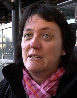 LITEN FORSTÅELSE: Brit Elin Fauske ble stående 30 minutter i kulda før hun fikk taxi. Foto: ROAR DALMO MOLTUBAK