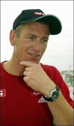 AVSLAPPET: Olympiatoppens Tore Øvrebø lar seg ikke hisse opp av svenskenes utspill. Foto: Scanpix