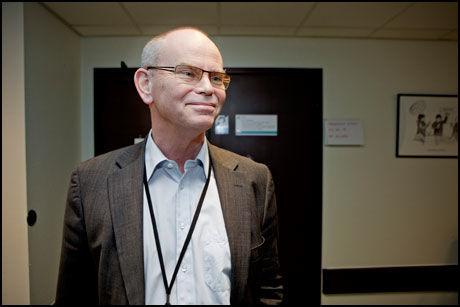 SJEFEN: Administrerende direktør Erik Omland må svare på spørsmål fra Helsetilsynet. Foto: Krister Sørbø