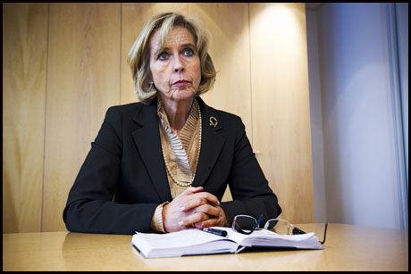 PRESENTERTE GJENNOMGANG: Helseminister Anne-Grete Støm-Erichsen. Arkivfoto: JAN PETTER LYNAU / VG.