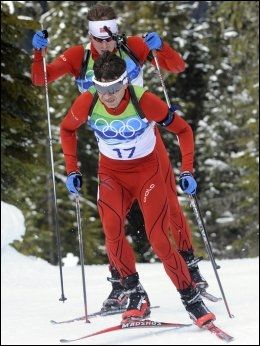 SKJØT SEG BORT: Ole Einar Bjørndalen. Foto: Scanpix