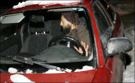 STAKK AV: Mohyeldeen Mohammad forsvant fra pressen etter et politiavhør på Larvik politistasjon. Foto: Scanpix