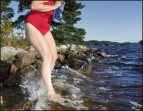 IIIK: Det kan gå mot en kjølig sommer. Foto: Illustrasjonsfoto: Petter Emil Wikøren/VG
