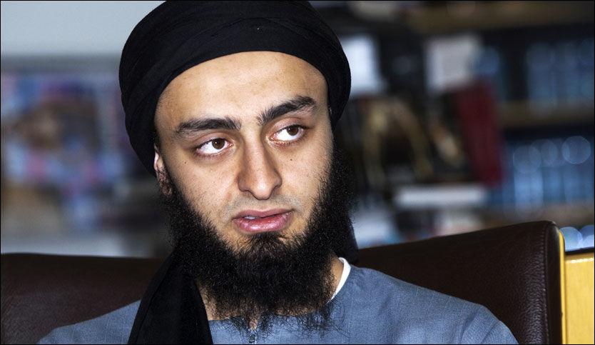 I HARDT VÆR: Universitetet der Mohyeldeen Mohammad studerer varsler at de vil ta affære etter Larvik-mannens terroradvarsel. Foto: Frode Hansen