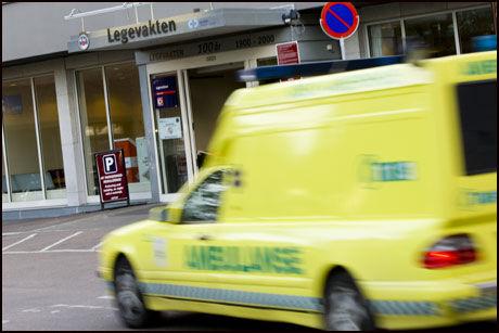 KAN KOSTE LIV: I verste fall kan pasienter dø som følge av trege datasystemer eller behandlingsrutiner som mangler oppdateringer. Foto: Illustrasjonsfoto: Gorm Kallestad / SCANPIX