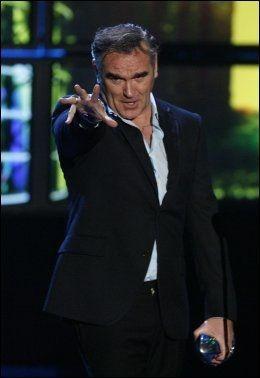 KJEMPER FOR DYRAS RETTIGHETER: Den britiske poplegenden Morrissey. Foto: Reuters