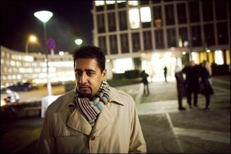 SINT: Venstre-politiker Abid Q. Raja liker dårlig kritikken fra Håkon Haugli (Ap). Foto: