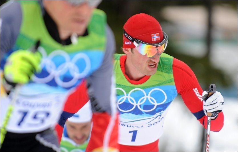 SATSER: Petter Northug har planer om å gå på ski i mange år til. Foto: AFP